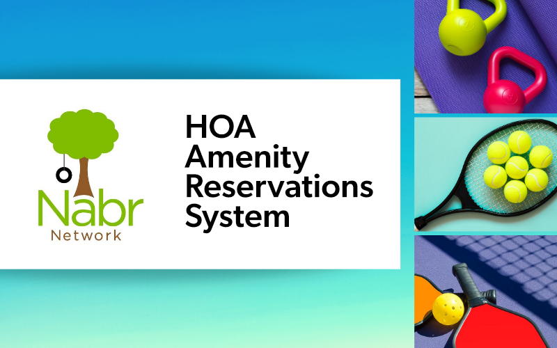 NabrNetwork HOA Amenity Reservations